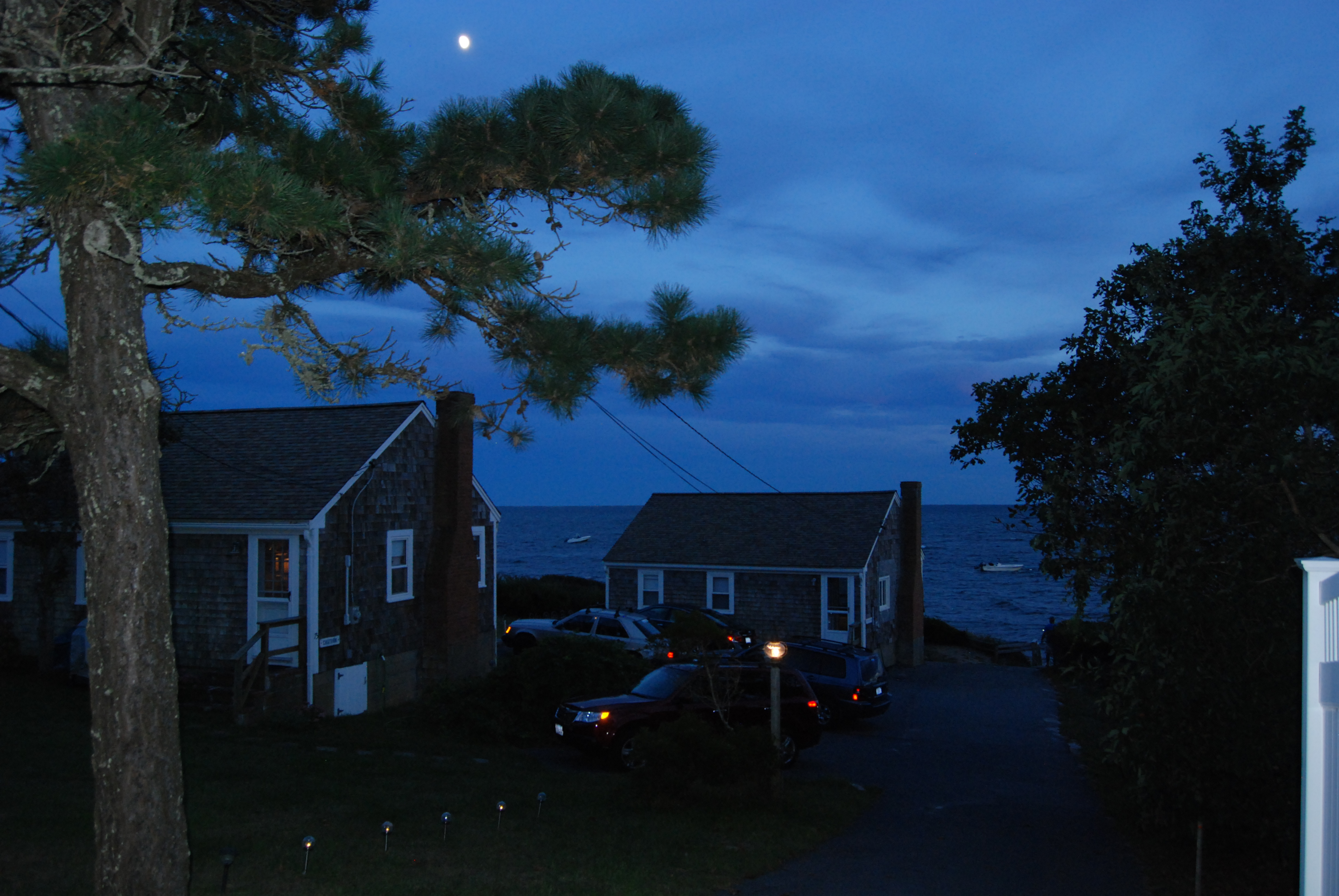 Cottages at Night